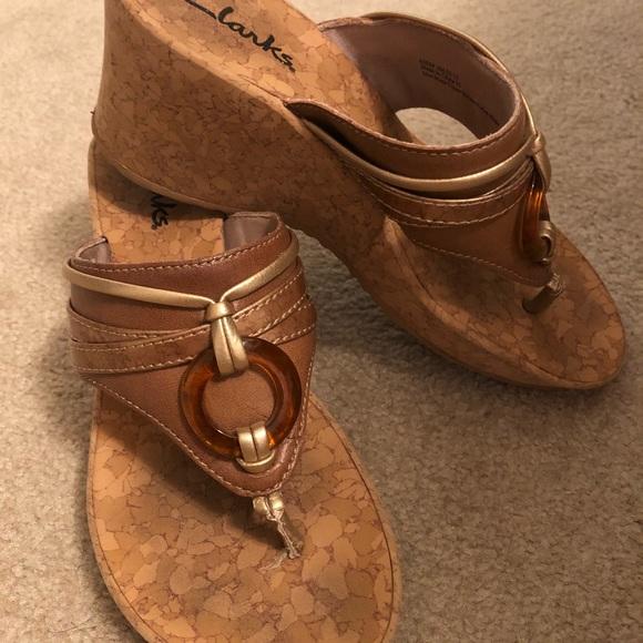 666d10f50b4a7 Clarks Shoes | Summer Sandals | Poshmark